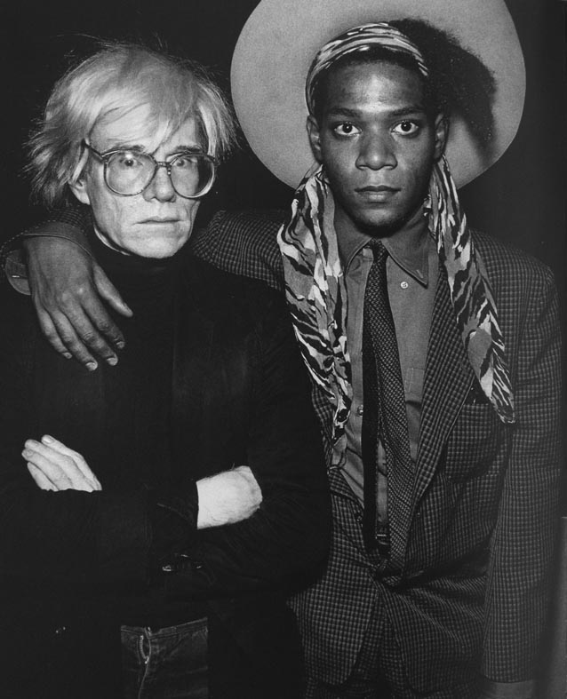 andy warhol and basquiat relationship